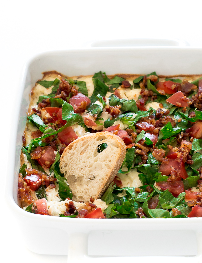 Easy Baked Blt Dip Crowd Favorite Chef Savvy