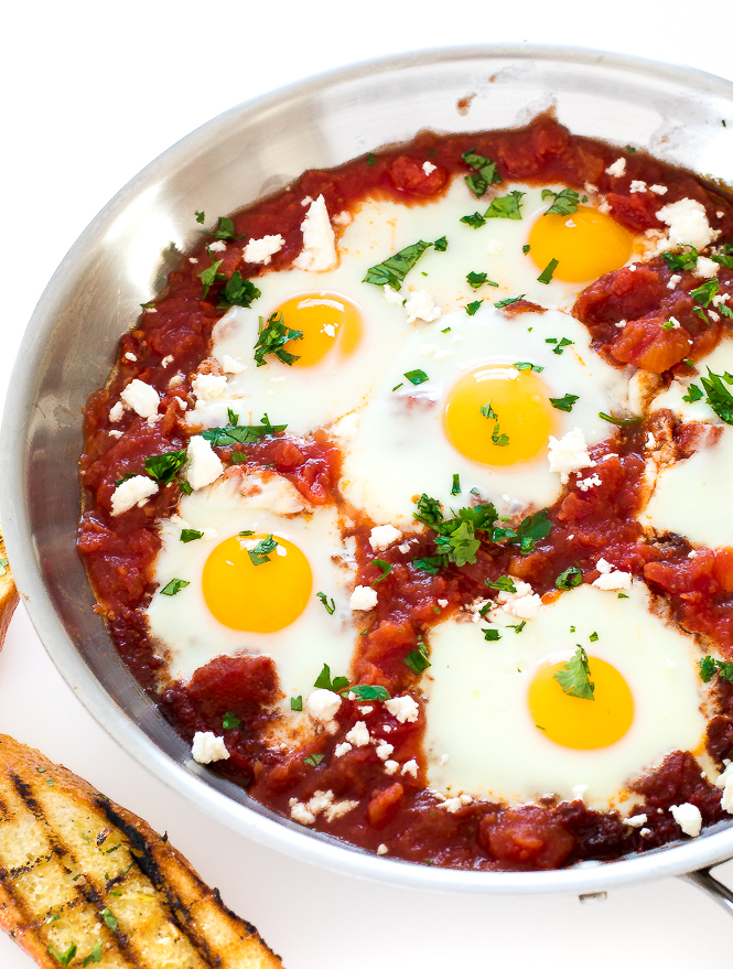 Shakshuka Eggs | chefsavvy.com