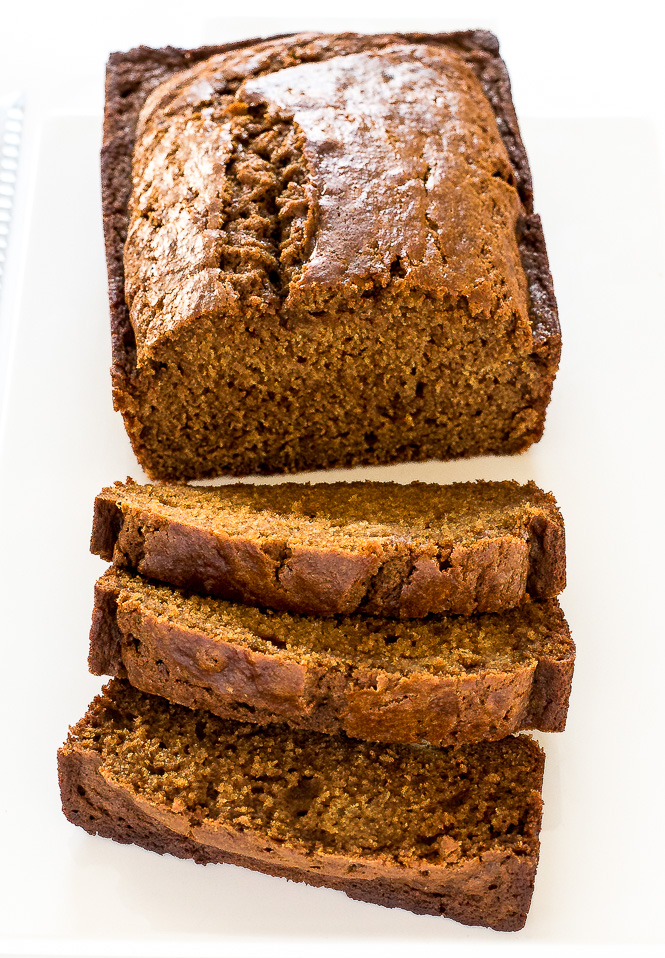 Easy Gingerbread Loaf | chefsavvy.com