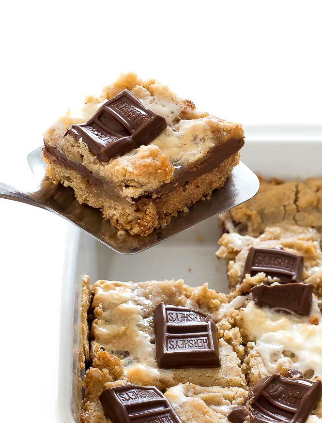 Best S'mores Bars | chefsavvy.com
