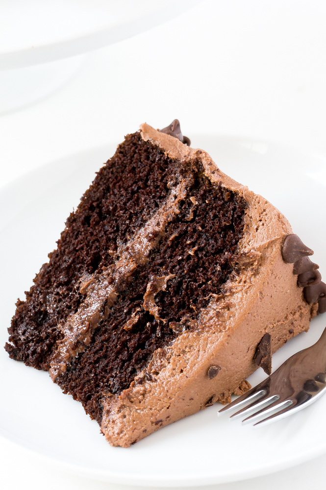 Chocolate Cake With Chocolate Filling
