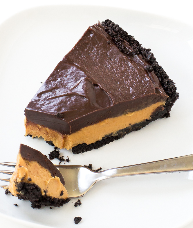 Chocolate Peanut Butter Pie - Chef Savvy
