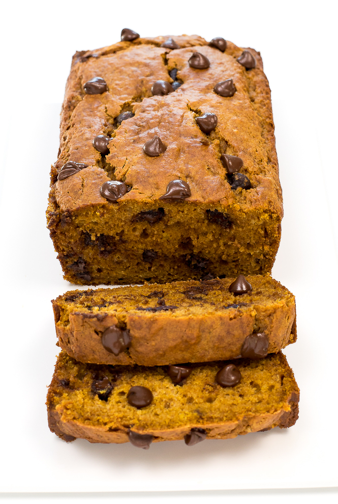 Super Moist Chocolate Chip Pumpkin Bread Chef Savvy
