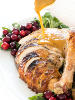 perfect roasted turkey thanksgiving menu