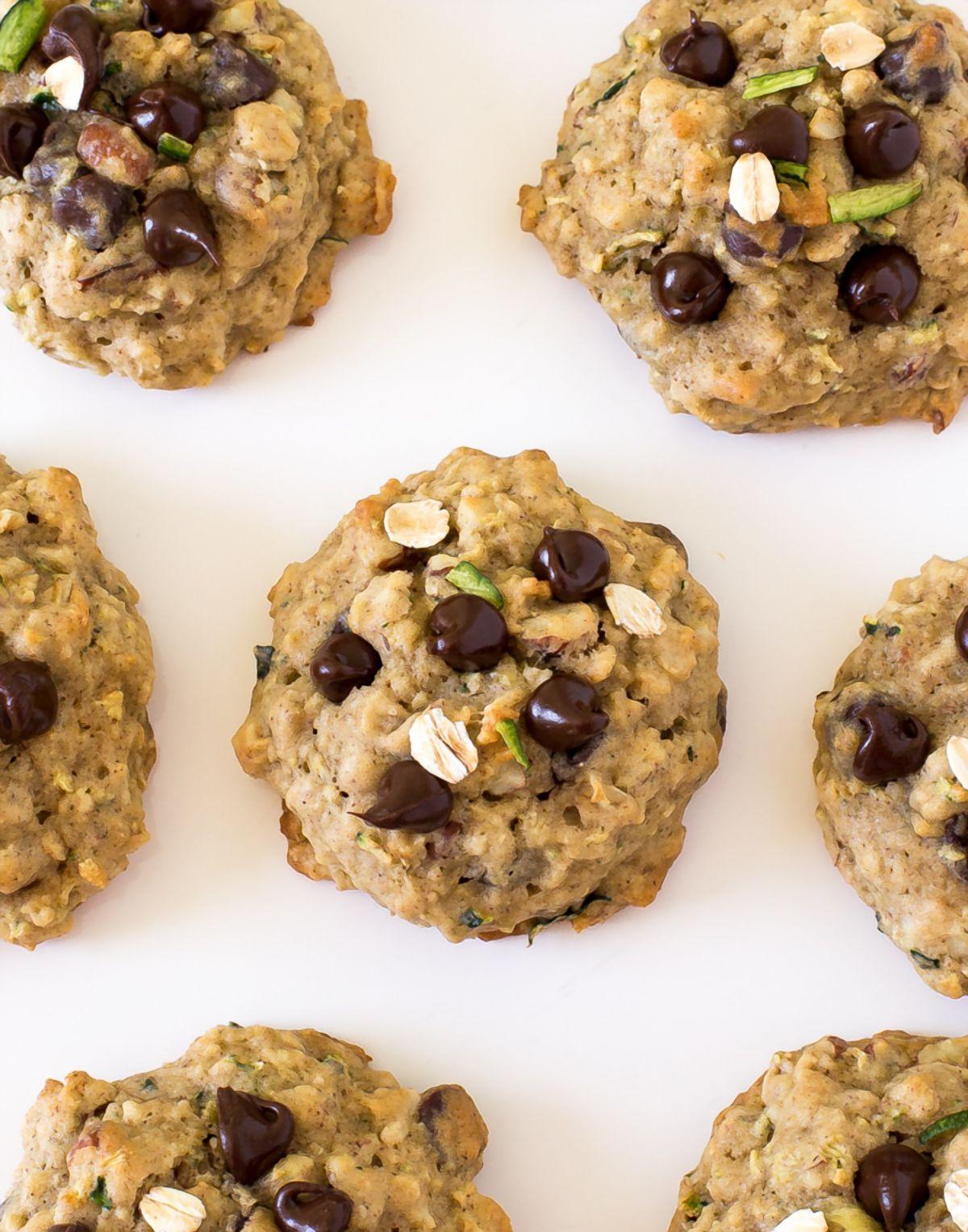 Zucchini Oat Cookies | chefsavvy.com